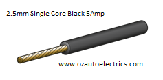 2.5mm Single Core Cable