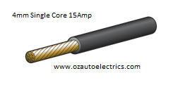 4mm Single Core Cable