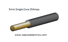 5mm Single Core Cable