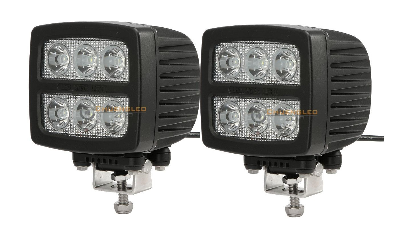 round led light tractor lights lighting floodlight flood automotive spot voltage work inch