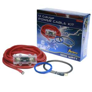 4 Gauge Power Cable Kit