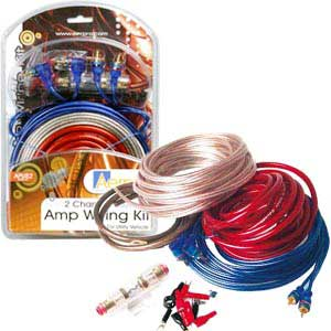 2 Channel Amp Wiring Kit