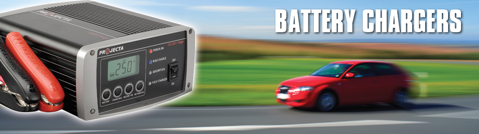 Projecta Car Battery Chargers
